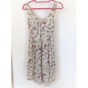 Rachel Roy Floral Dress 👗 Tie Back Sun Dress